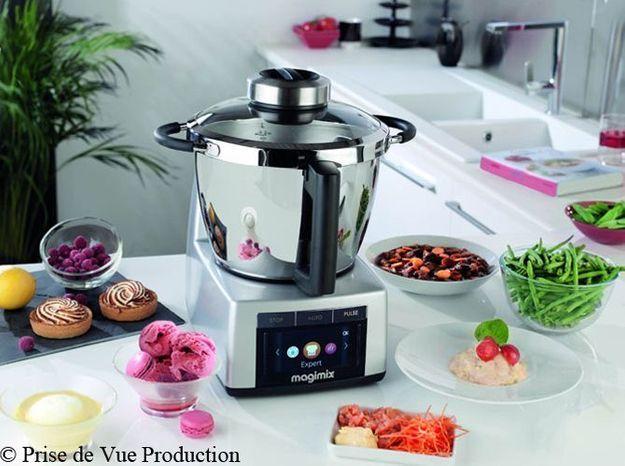 En cuisine, c'est mon robot qui gère tout !