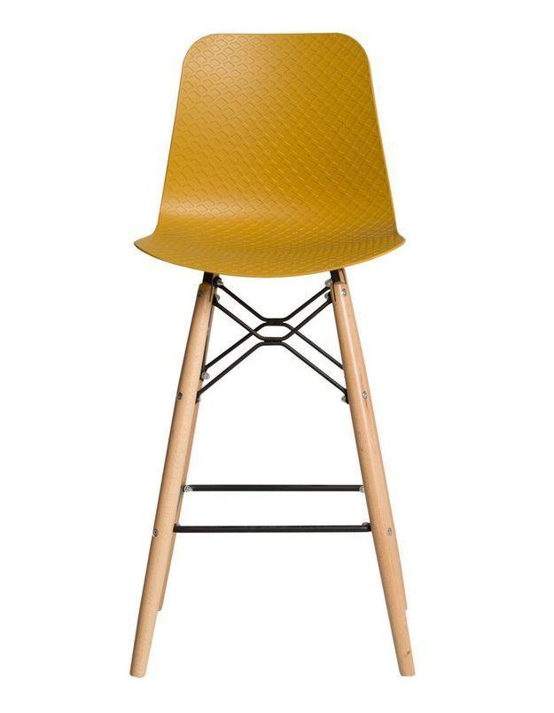 Tabouret de bar d couvrez nos mod les pr f r s elle - Tabouret de cuisine design jaune ...