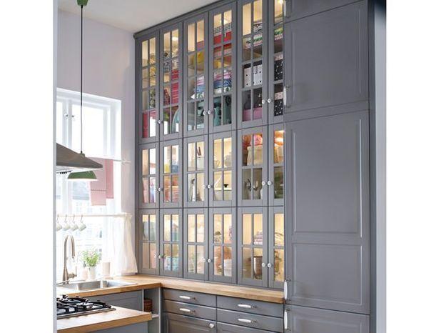 Préférez des portes transparentes