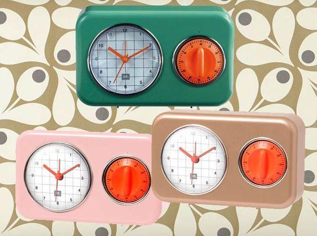 L'inspiration du jour : l'horloge minuteur Conforama