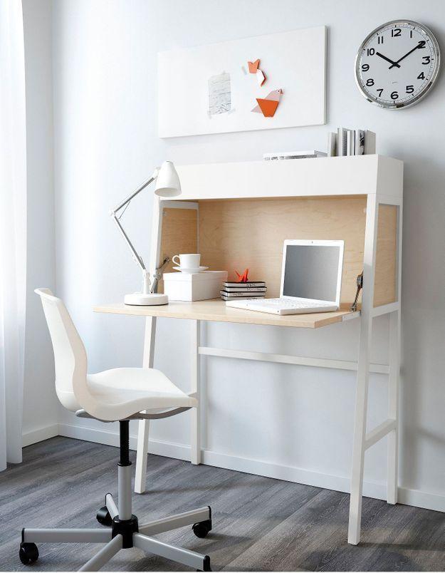 Un bureau IKEA caméleon