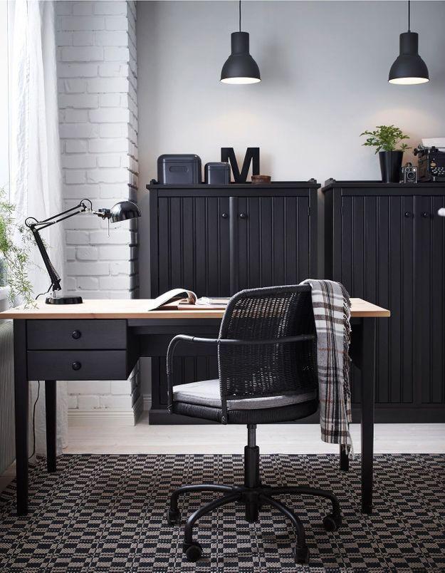 Un bureau IKEA classique