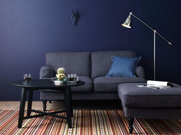 Un petit canapé classique
