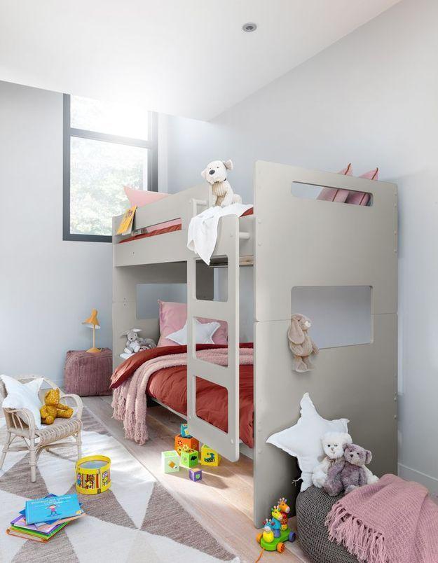Des lits superposés pour désencombrer la chambre