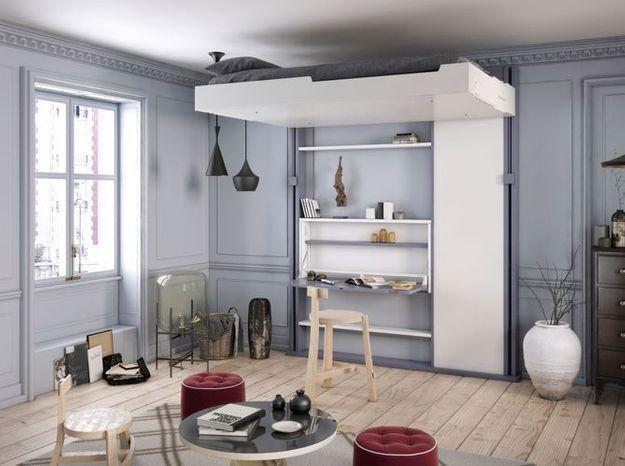 Investissez dans un lit escamotable pour votre petit appartement