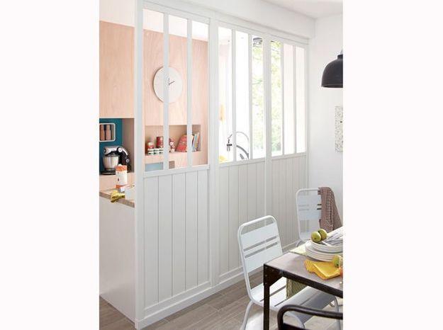 Optez pour une verrière de style atelier pour agrandir votre petit appartement