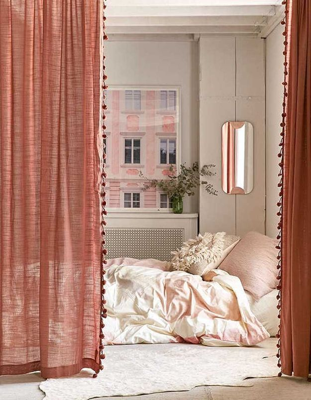 Délimitez l'espace grâce à de jolis rideaux