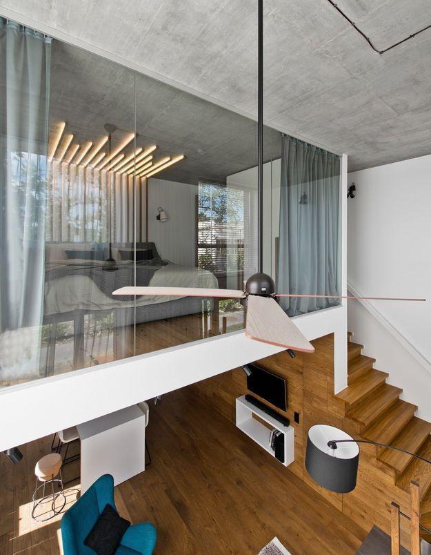 Un petit duplex ultra design