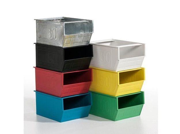 Des casiers empilables