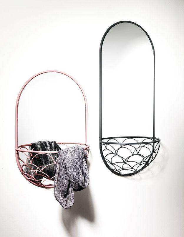 Miroir / panier