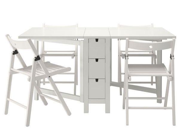 Table chaises pliantes ikea