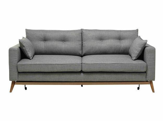 Un joli canapé convertible pour optimiser l'espace