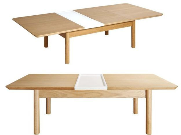 Une table basse avec rallonges pour un espace limité