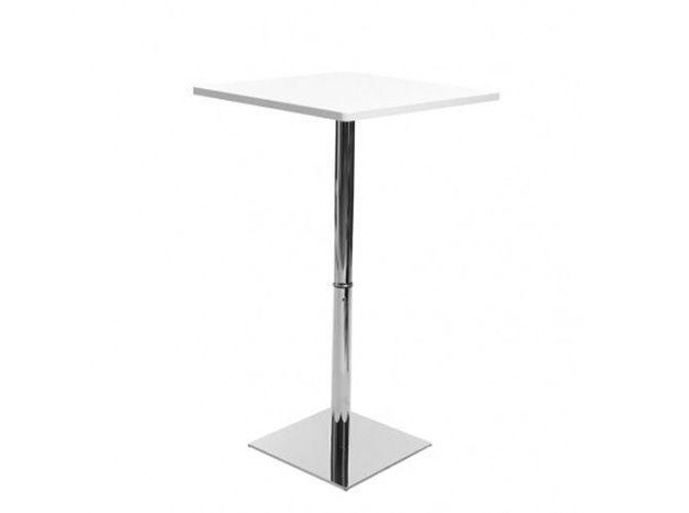 Table bar blanche miliboo