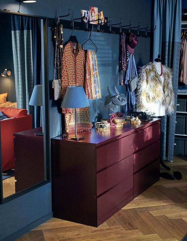 Comment créer un dressing dans une petite chambre ?