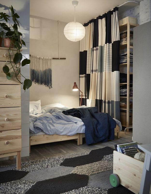 Comment positionner le lit dans une petite chambre ?