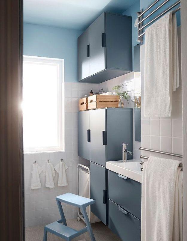 Quel est l'aménagement idéal (positionnement des meubles, de la douche, etc ) d'une petite salle de bains ?