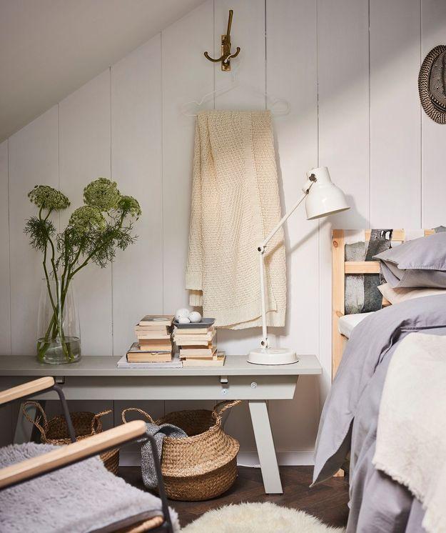 Quels rangements malins à privilégier dans une petite chambre ?