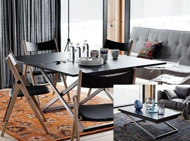 Des meubles à double fonction pour optimiser l'espace