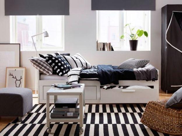 Des meubles à roulettes pour un aménagement mobile