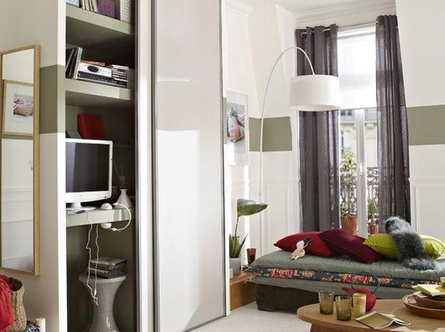 Studio nos 30 id es de rangements bien pens s elle - Idees bureau amenages petits espaces ...