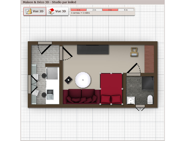 Le projet 3D de Imiled