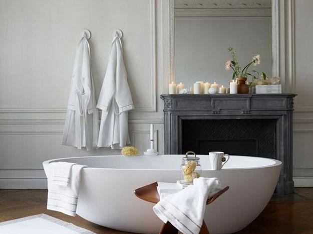 Elégante salle de bains