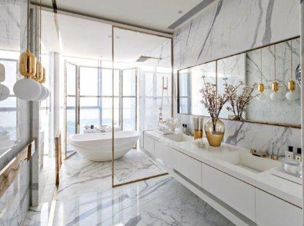 Salle de bains comme à l'hôtel