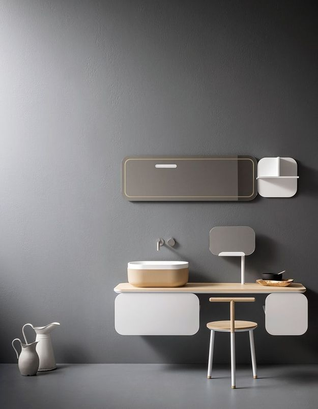Appréciez le style minimaliste dans la salle de bains
