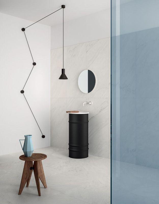 Une salle de bains design digne d'un magazine