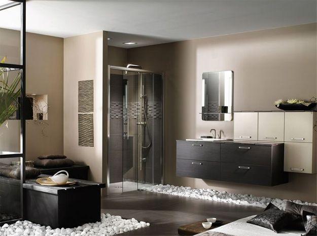 Idée déco de salle bains: un coin salon