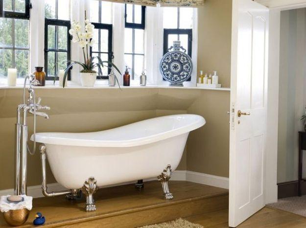 Salle de bains rétro : nos 5 conseils ! - Elle Décoration