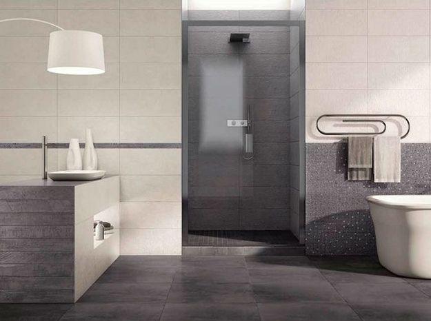 Salle de bains et carrelage font bon ménage - Elle Décoration