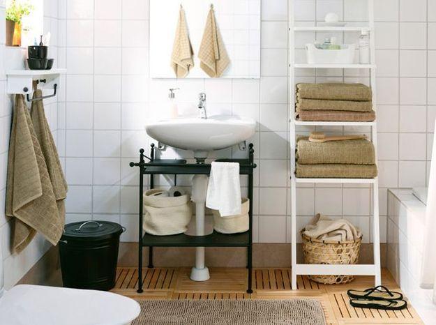 Comment relooker sa salle de bains sans se ruiner elle d coration - Deco salle de bain pas cher ...