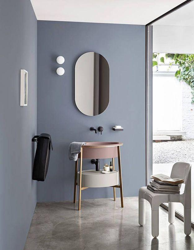 Salle de bains bleue Ceramica Cielo