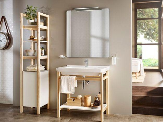 Armoire contemporaine pour la salle de bains
