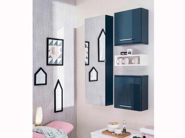 Armoire design avec miroir pour la salle de bains