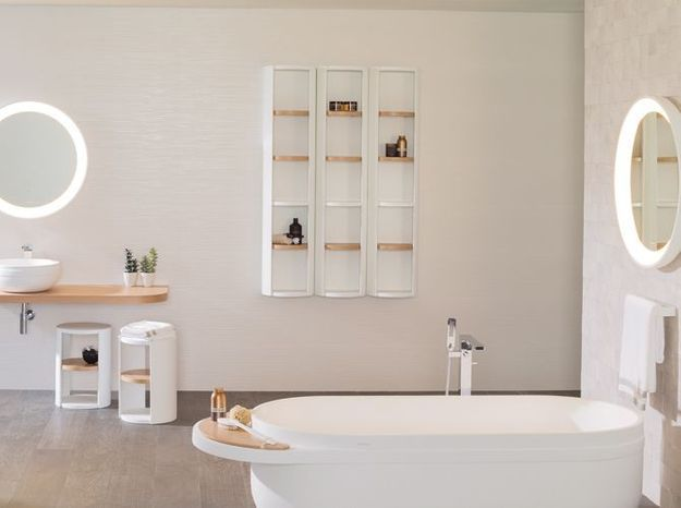 Armoire design pour la salle de bains
