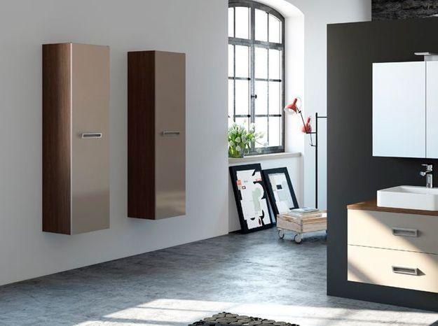 Élégantes armoires pour la salle de bains