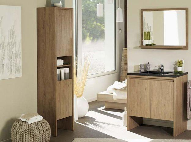 Colonne salle de bain miliboo
