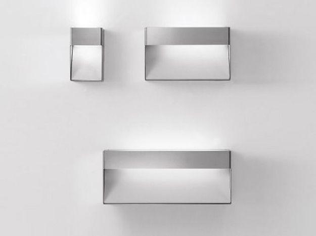 Des appliques au look minimaliste pour une salle de bains design
