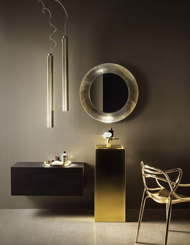 Miroir de salle de bains de luxe