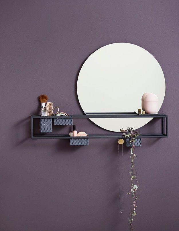 Miroir de salle de bains original