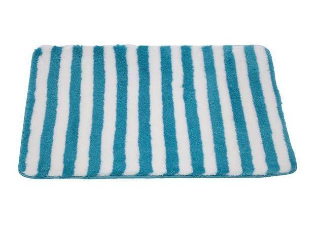 12. Le tapis de bain rayé