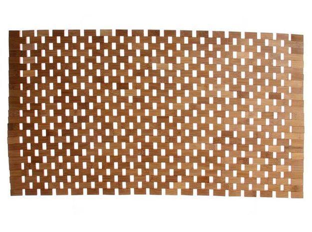 2. Le tapis en bambou
