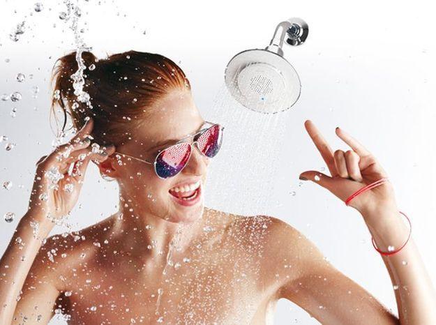 Prenez votre douche en musique