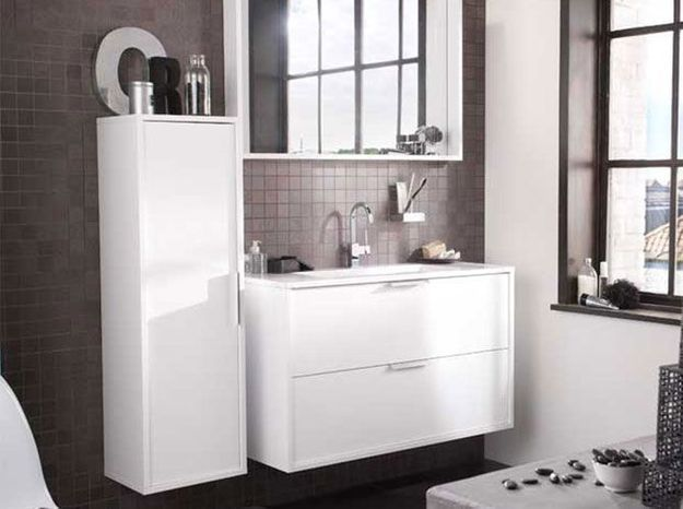 Lapeyre mise sur le gain de place dans la salle de bain