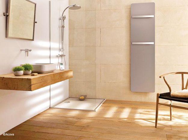 Le bois sublime la salle de bains - Elle Décoration