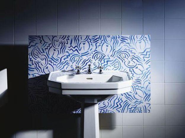 5- Opter pour un lavabo style Art Déco