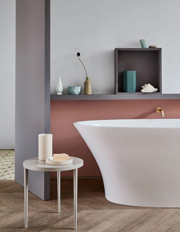 Bichonner la petite déco relaxante pour une salle de bains zen